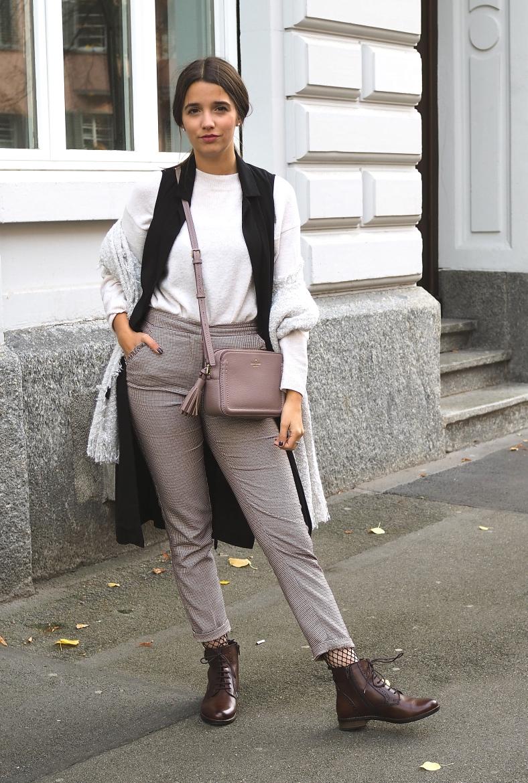 Schal Trend und Vintage Look