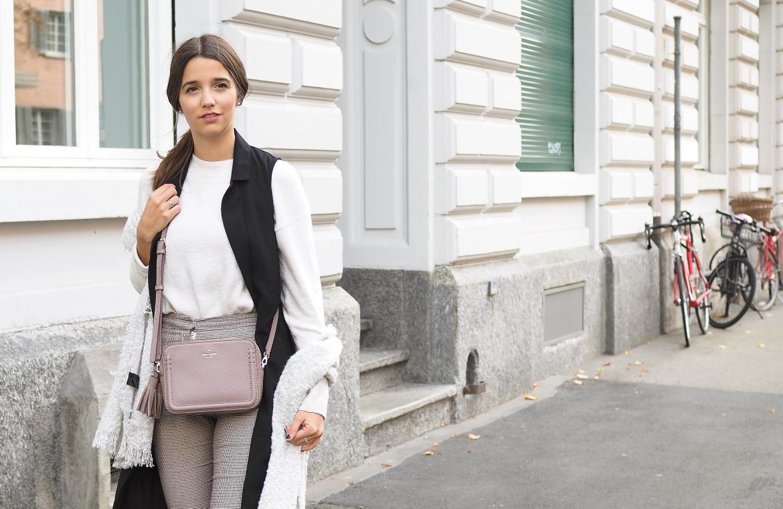 Schal Trend und Vintage Outfit