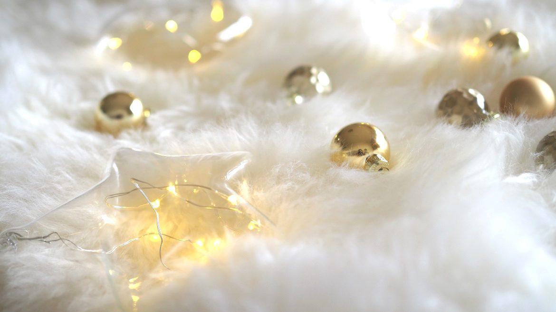 Weihnachtsdeko Gold Rot