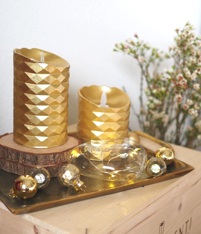 Weihnachtsdeko Rot Gold