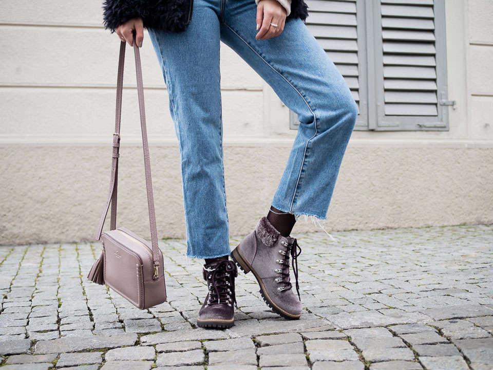 Velvet Winter Boots