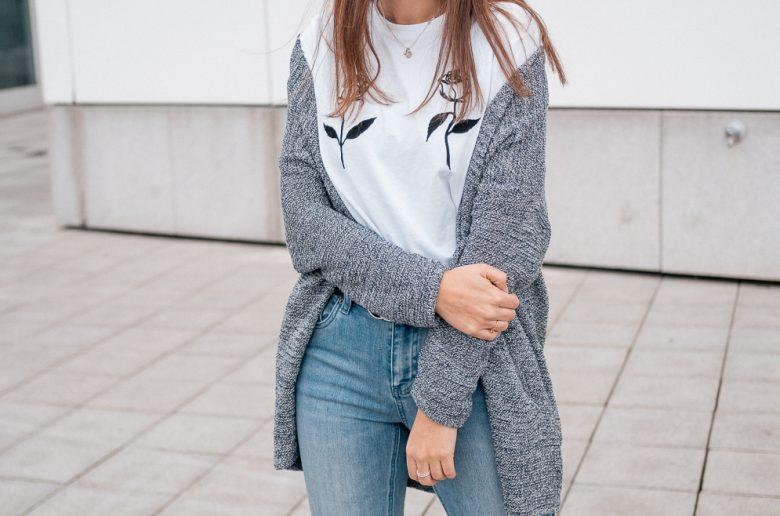 Denim Jeans Trends & Logo Shirt