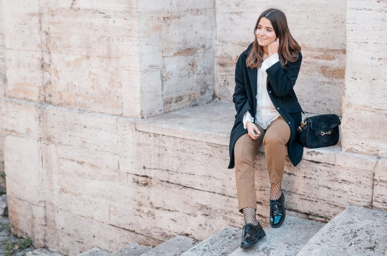 Travel Look Rome Lack Schuhe