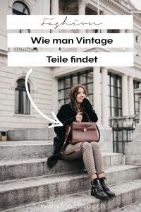 Vintage Einkaufen Mode