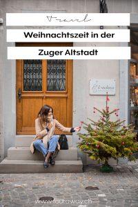 Zuger Altstadt Schweiz Weihnachten