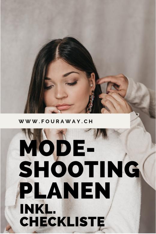 Fashionshooting planen mit Checkliste